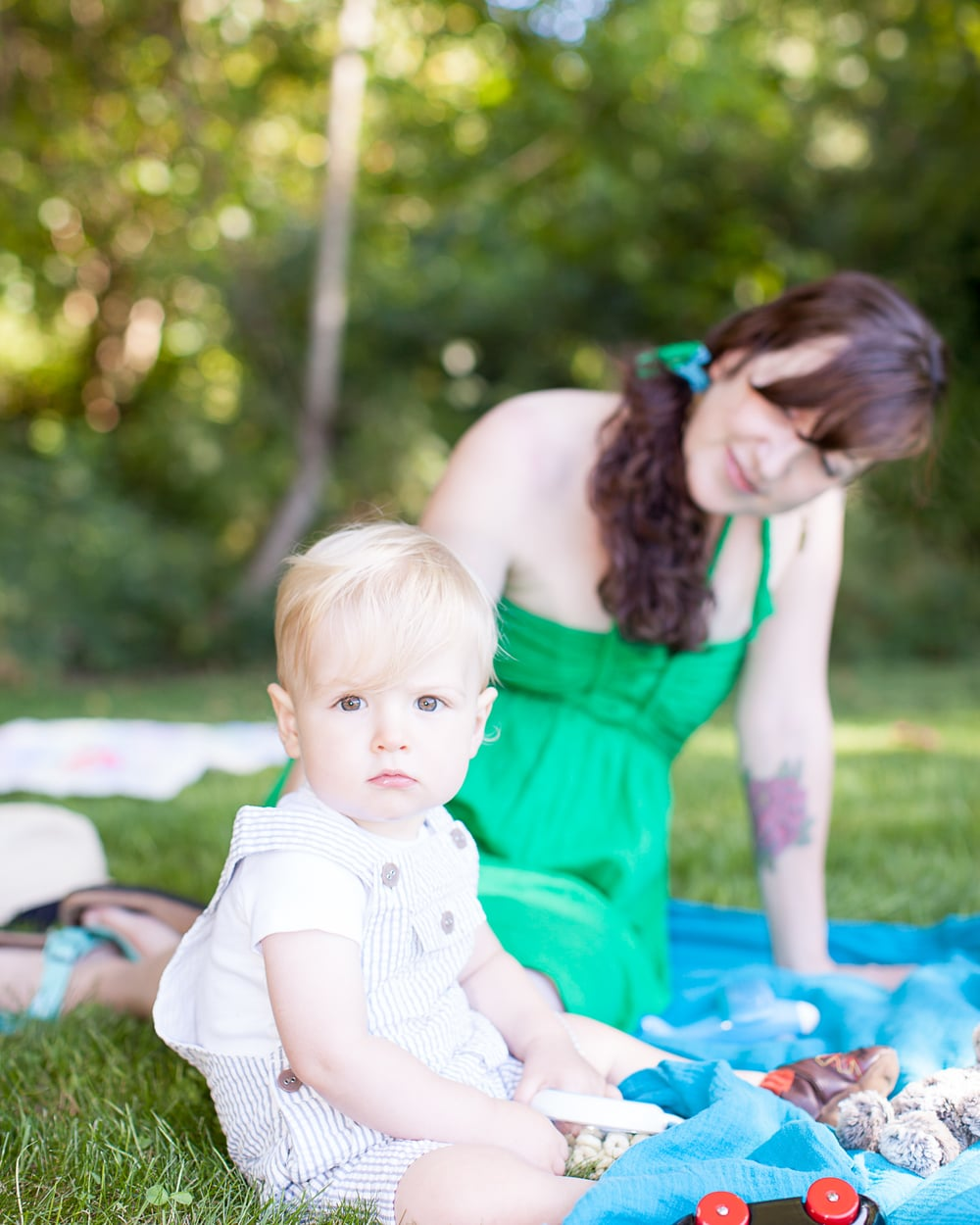mother and child photo shoot