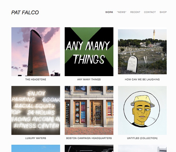 uh finally updated my website with some recent work, and a full archive of The Headstone project/policy — illfalco.com #boringwinterthings