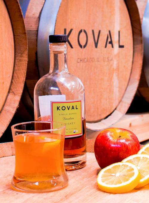 Shoot featuring award-winning Koval Distillary for Domino Magazine