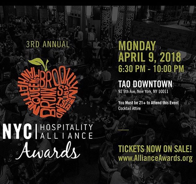 Congrats to our very own Emily Hilton for being honored for the Determination Award tonight at The Alliance Awards 2018! It's not to late to grab a ticket and join us for a night dedicated to those who make the hospitality industry great! http://www.allianceawards.org  #bathtubgin #bathtubginnyc #hospitalitylife #allianceawards #nychospitalityalliance #determinationaward #newyork #nychospitality