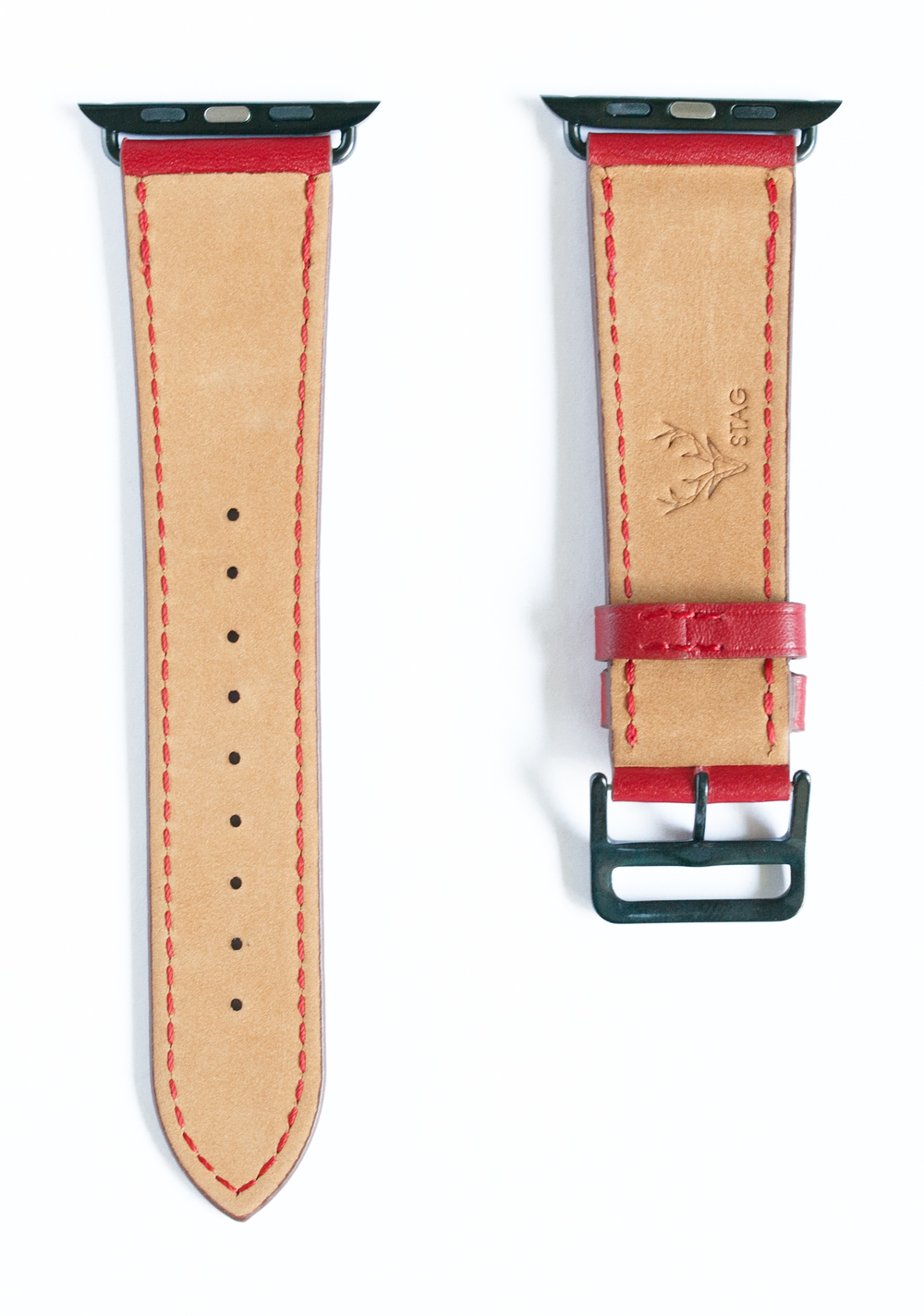 cinnamon apple watch band back