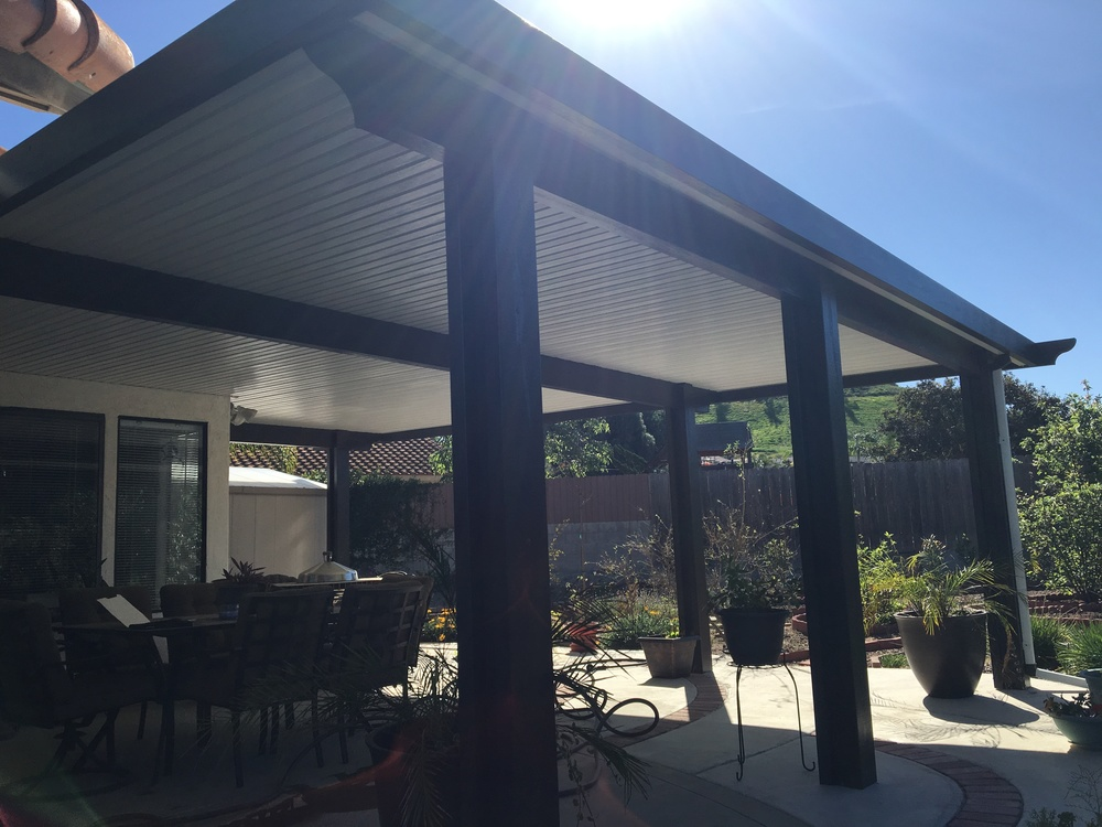 Solid Style Patio Cover