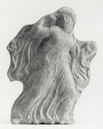 Appliqué Relief of a Running Maiden, Ancient Greece