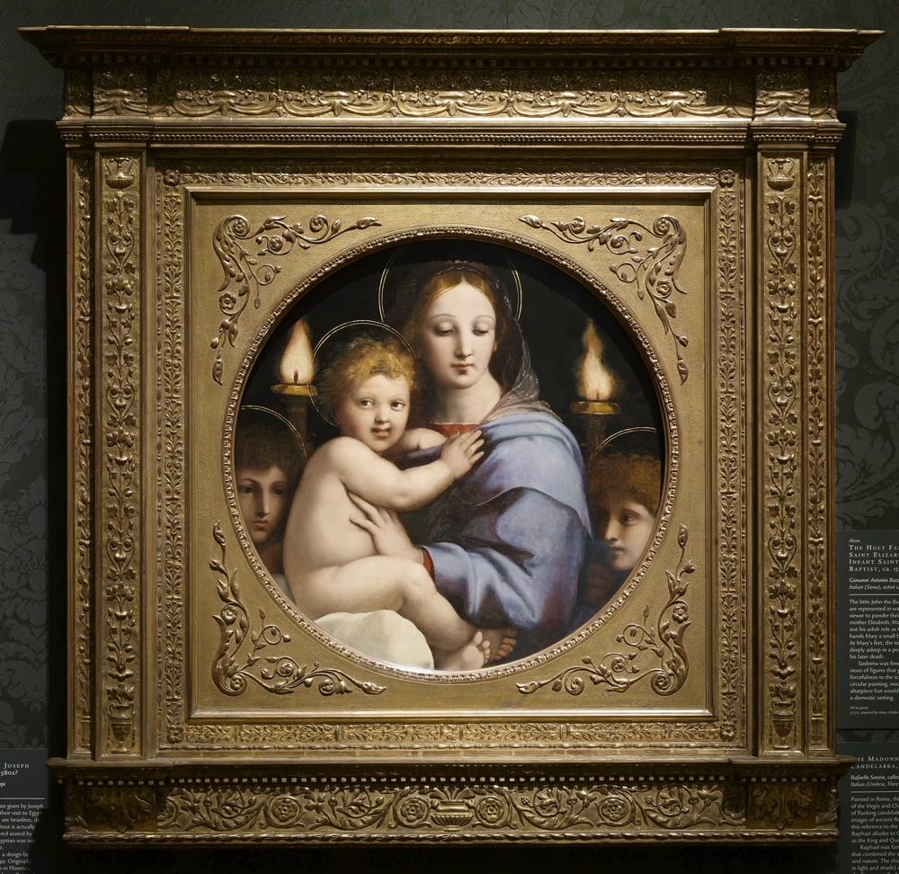 Raphael's Madonna of the Candellabra