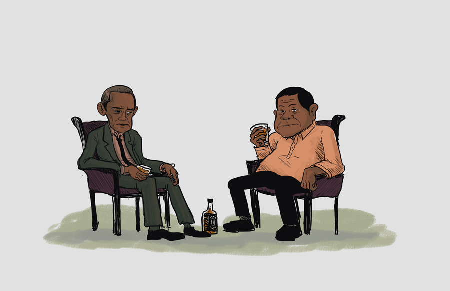An Imaginary Conversation between Obama and Duterte