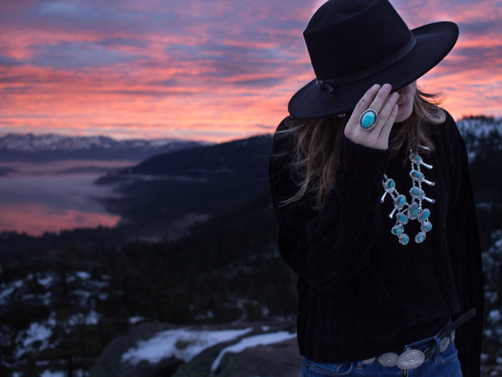 FALL/WINTER 2018 PROMOTIONAL IMAGES FOR INDEPENDENTLY OWNED SOUTHWESTERN JEWELRY STORE -  WHITE BUFFALO  - TRUCKEE, CA
