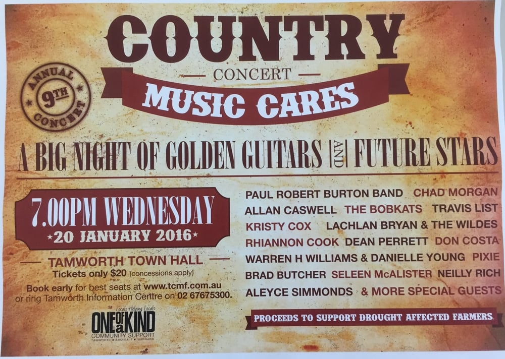 Country Music Cares Concert