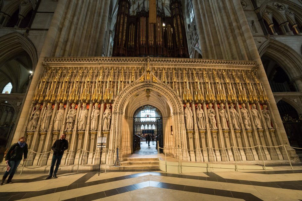 York Minster Lighting Design Sutton Vane Associates The Kings Screen