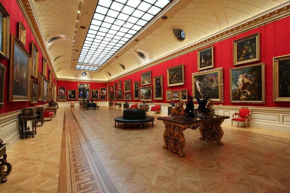 The Great Gallery, Wallace Collection, lit by Sutton Vane Associates