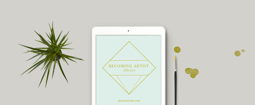 The Becoming Artist Free Resource Library