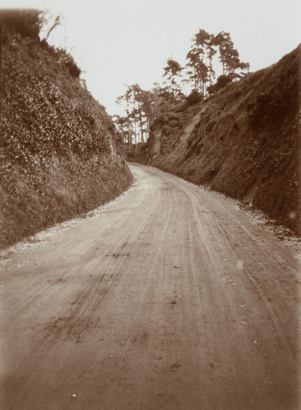 An unnamed road along the route.