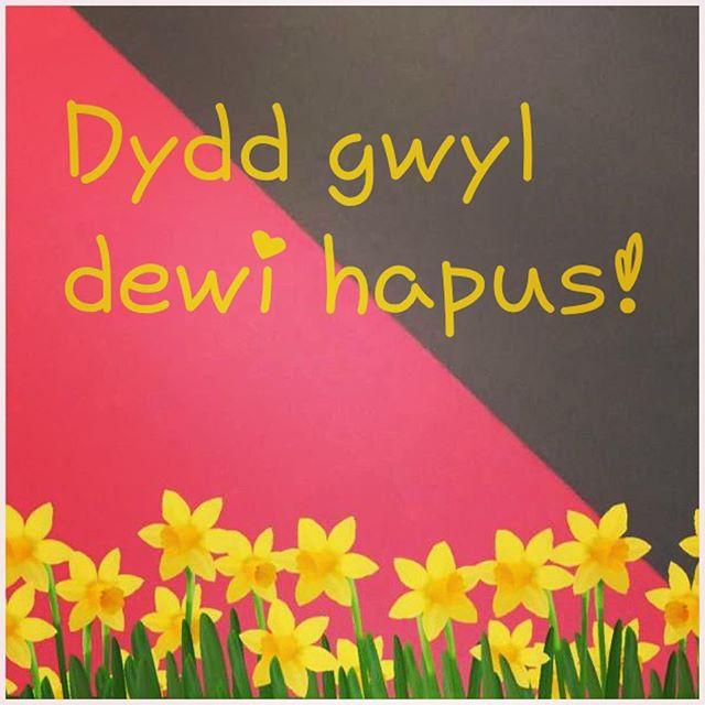 #dyddgwyldewi #stdavidsday