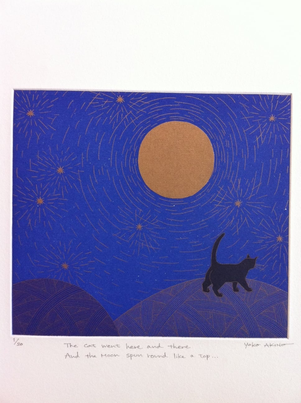 The Cat went Here and there and the moon spun round like a top…
