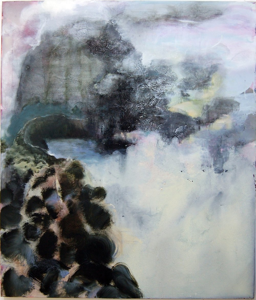 Veiled landscape