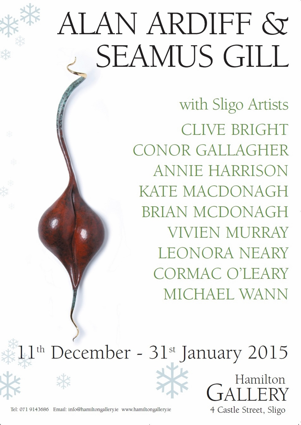 Hamilton Gallery Invited Artists 2015 (Poster)