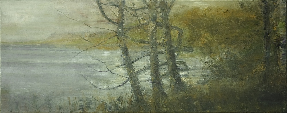 Conor Galalgher Artist. Slish Wood Trees