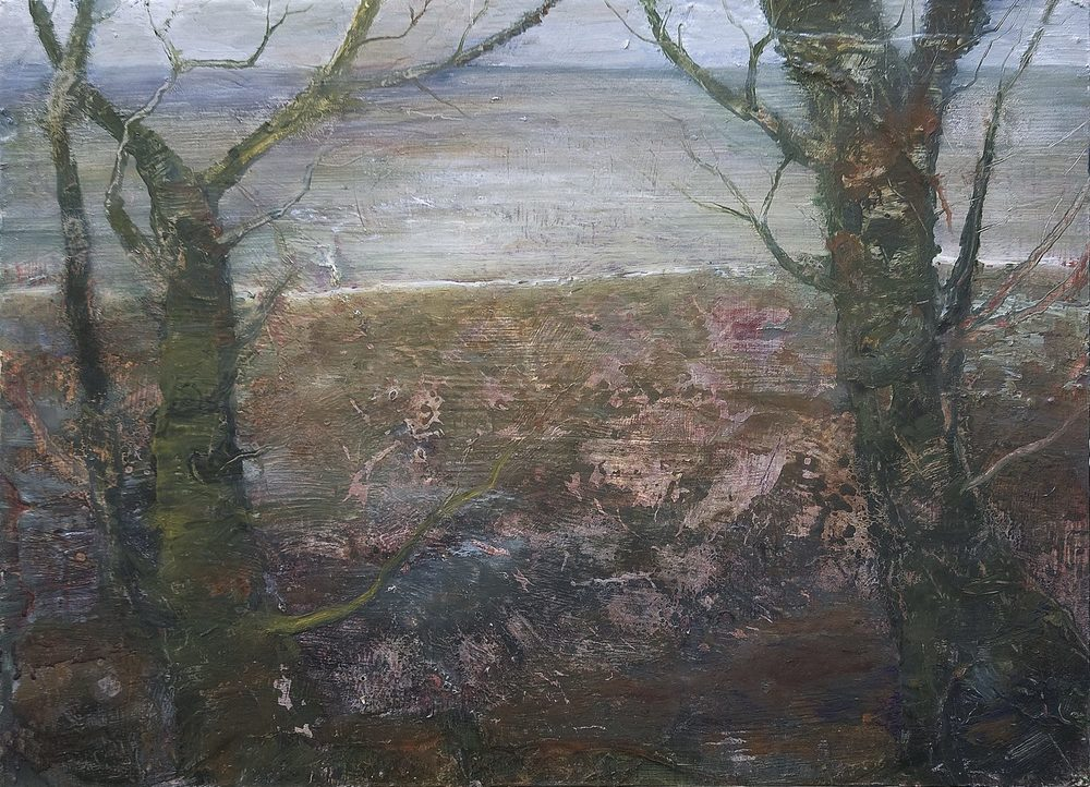 Conor Galalgher Artist. Trees Lissadell