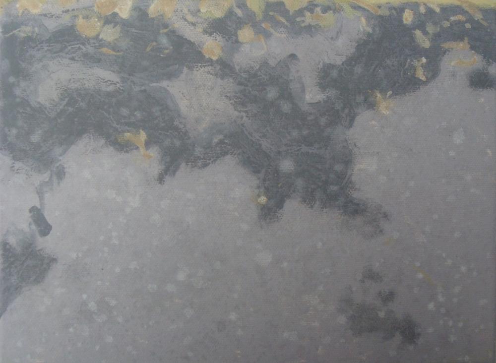 St. Columba's roadway rain