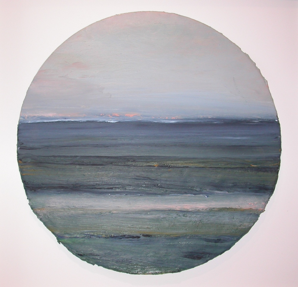 Mary Lohan oil on board  41cm in diameter  €2000