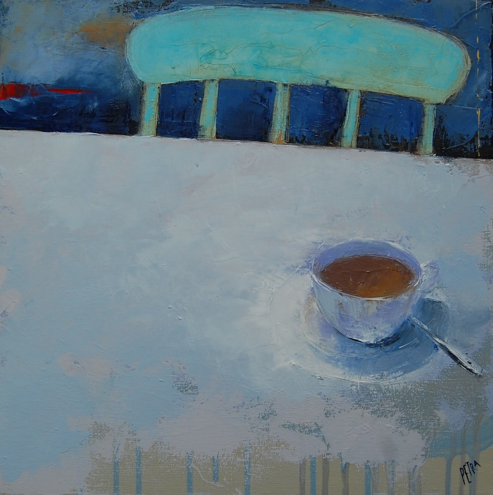 Tea in an imaginary landscape