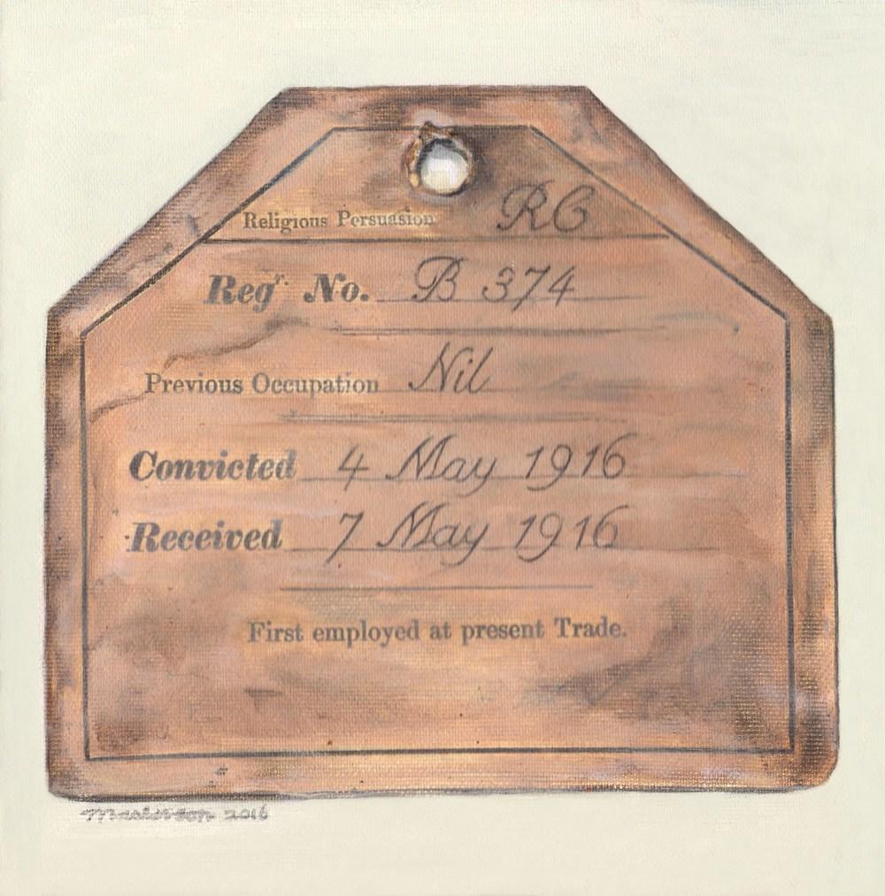 Constance Markieviez (Composite) Committal Card Mountjoy Prison