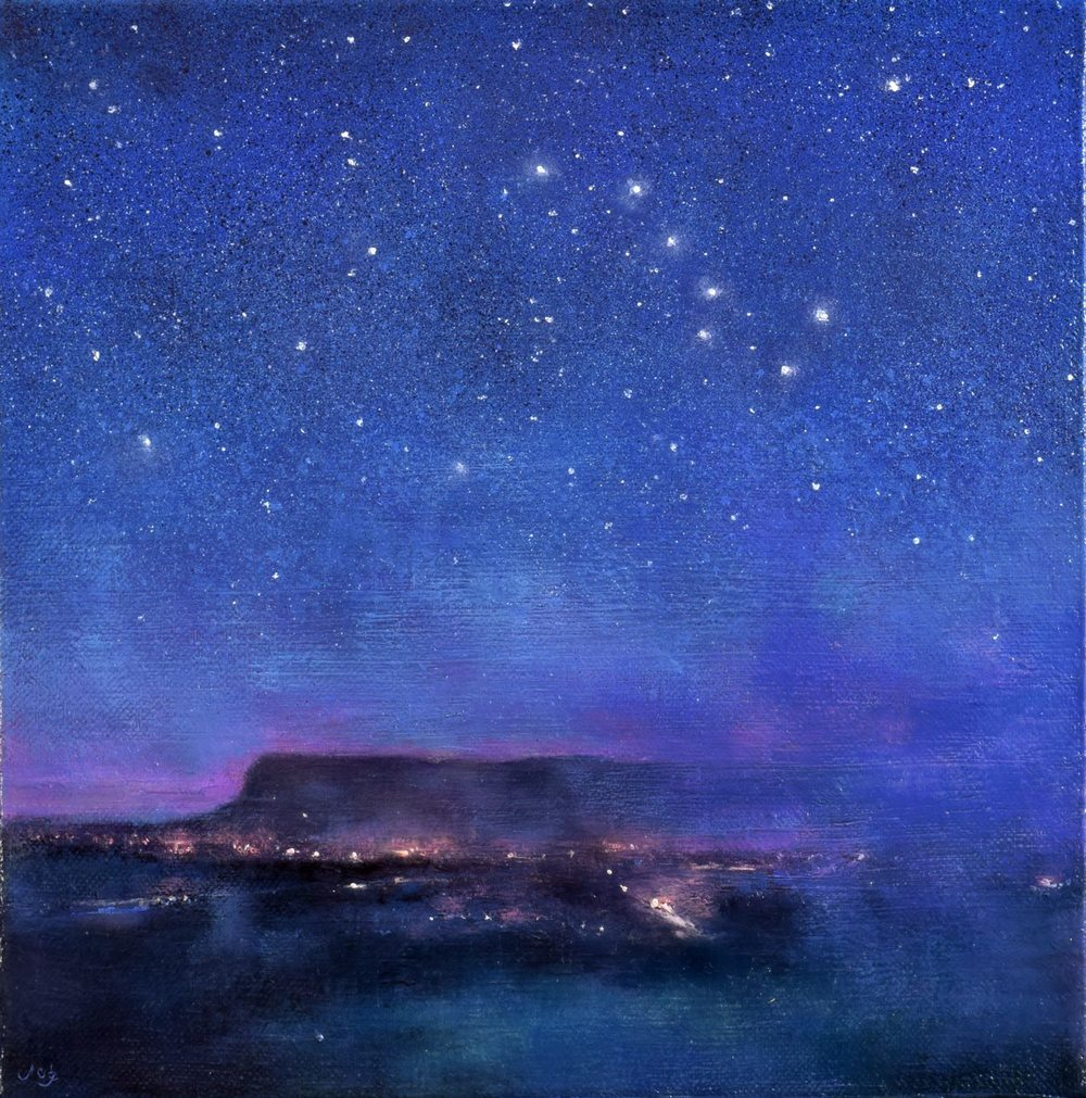 The Plough and the Stars over Ben Bulben 1