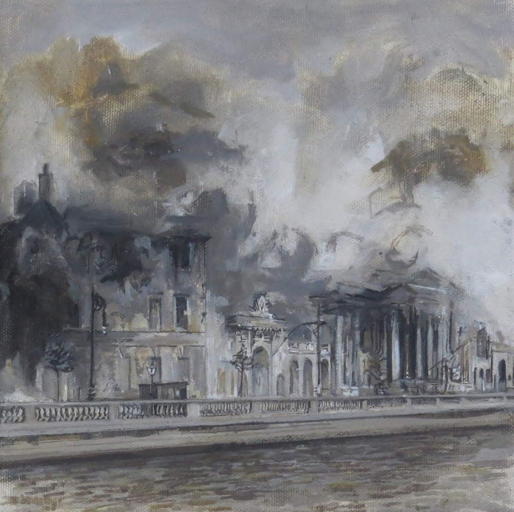 Terrible Beauty - destruction of the Four Courts