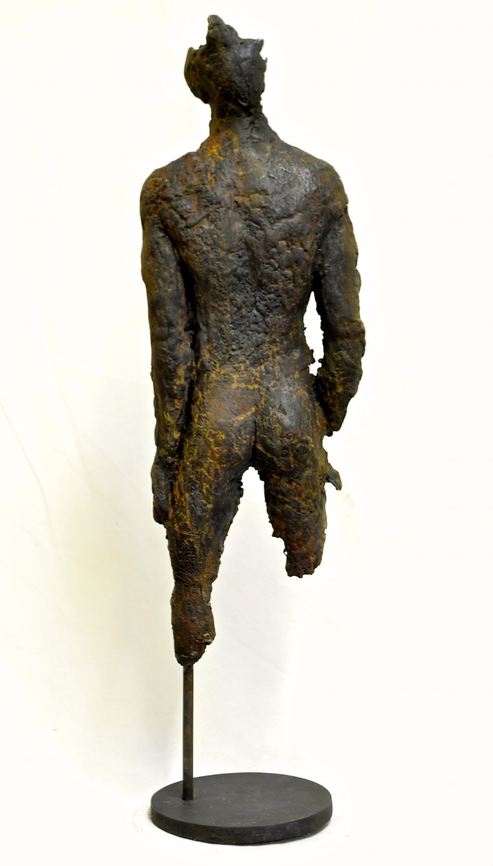 Image 1. bronze 19cm on 10cm base by Catherine Greene 2