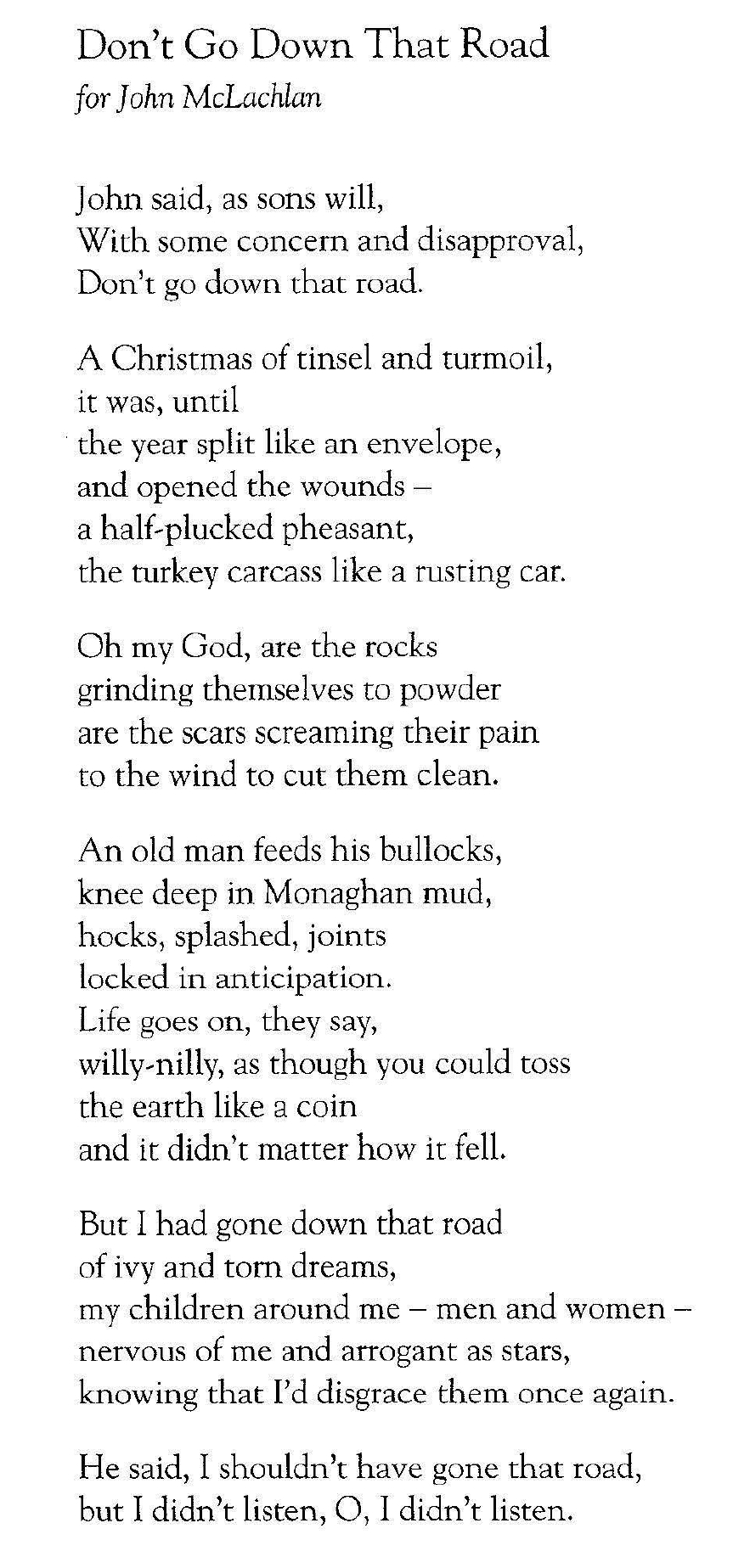 From The White Beach. New And Selected Poems by Leland Bardwell. Published by Salmon Poetry   https://www.salmonpoetry.com/