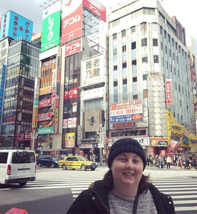 OMG! We're in Tokyo! Having the time of our lives in the weirdest place I've ever been... See you in two weeks, Instabuddies! 🍱☃️ #creativebusiness #mycreativebiz #theeverygirl #theeverydaygirl #tnchustler #glitterguide #choosejoy #thatsdarling #darlingmovement #flashesofdelight #thehappynow #savvybusinessowner #ladyboss #bosslady #girlboss #communityovercompetition #calledtobecreative #creativebusinessowner #createdtocreate #creativepreneur #solopreneur #womeninbiz #ladybizcrush #infopreneur #createlounge #quote #theheartfulhustle #creativityfound #livecreatively