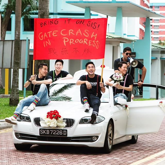 It's the time of the year when crazy weddings happen! Grooms and brothers, are you ready for gatecrash??!