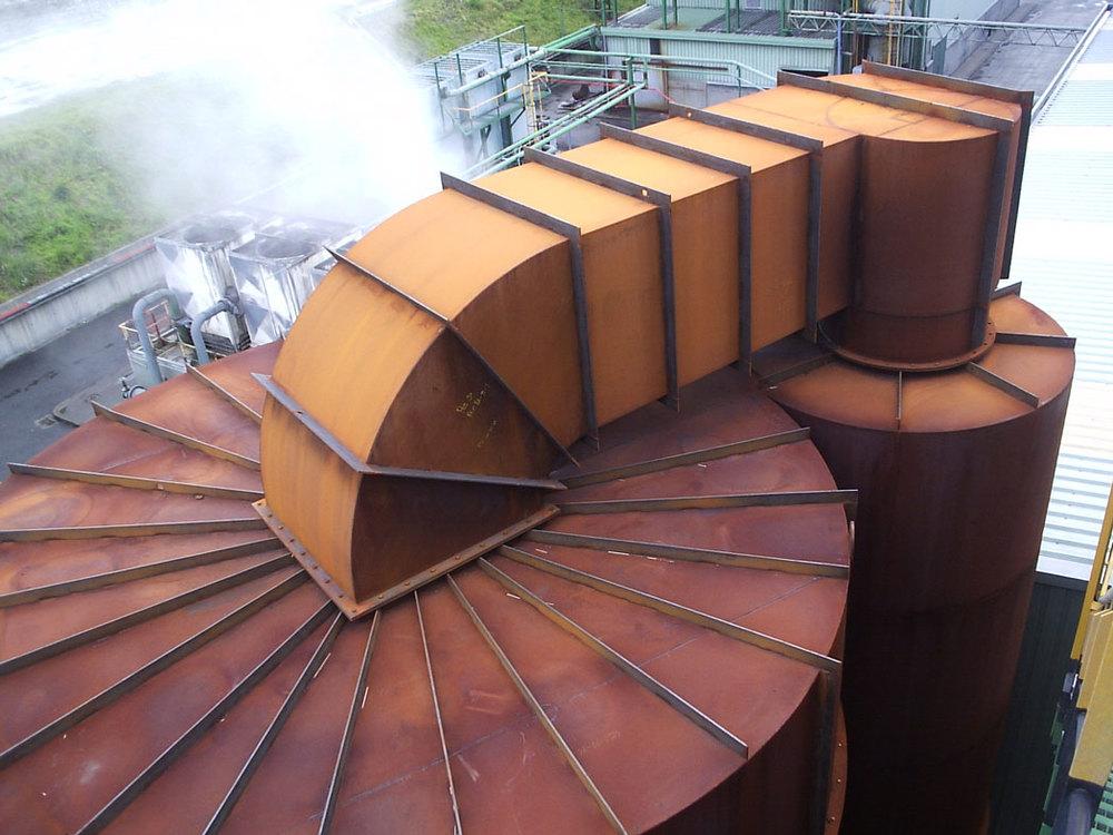 Fabricación de conductos industriales