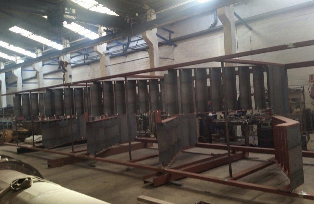 Fabricación de escaleras industriales