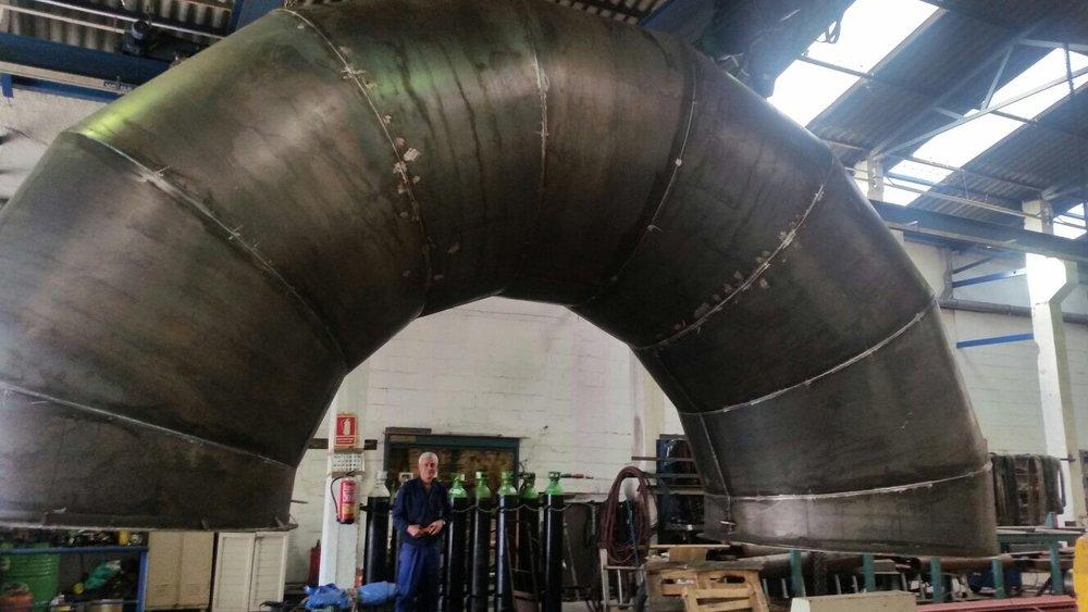 Fabricación de ciclones industriales