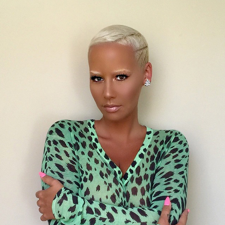 Amber Rose. Copyright Getty Images.