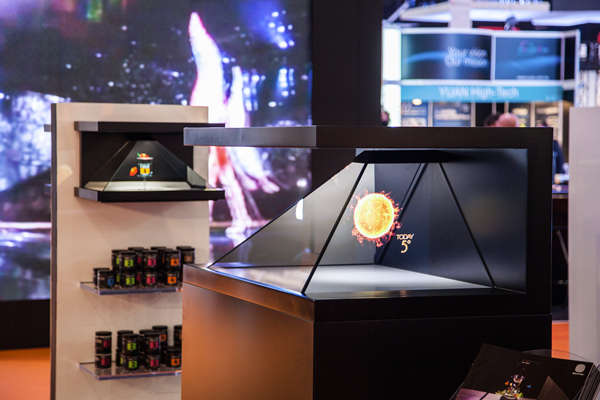 D Hologram Exhibition : Holographic displays