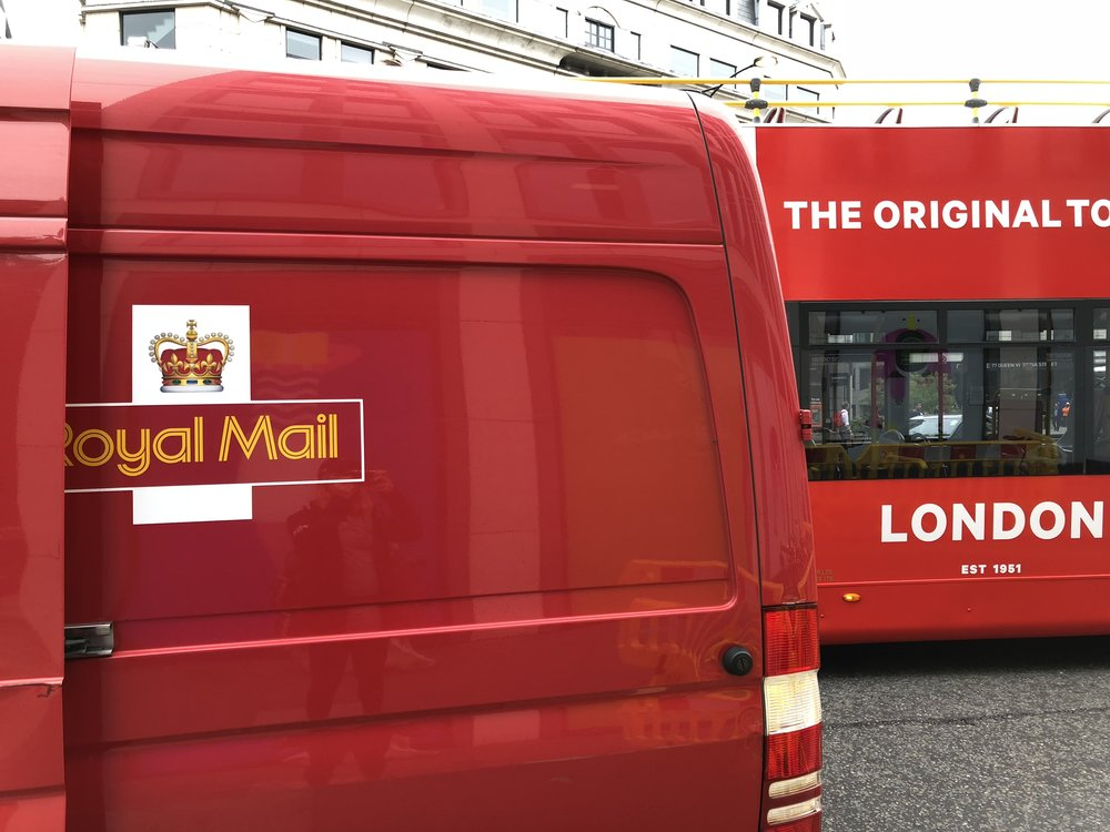 Royal Mail and Double Decker Bus