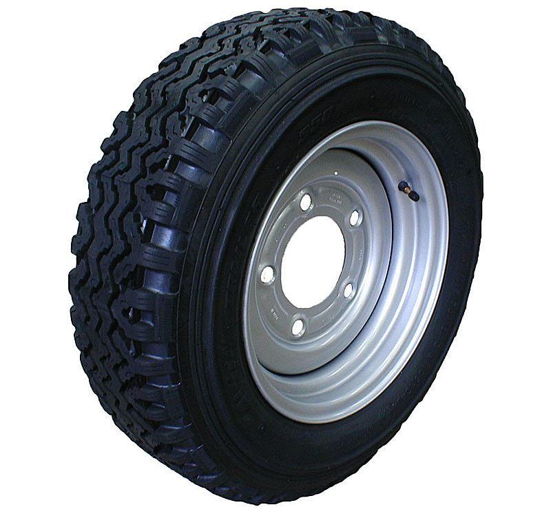 "13"" Tyre & Rim 185x13. 185/70x13 tyre on 5std 6.5PCD rim"