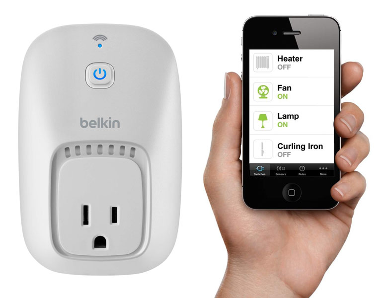 The Belkin WeMo Switch.