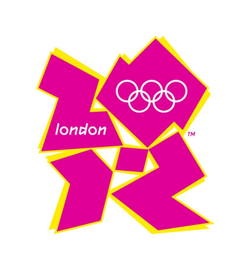 The London Olympics 2012 logo.