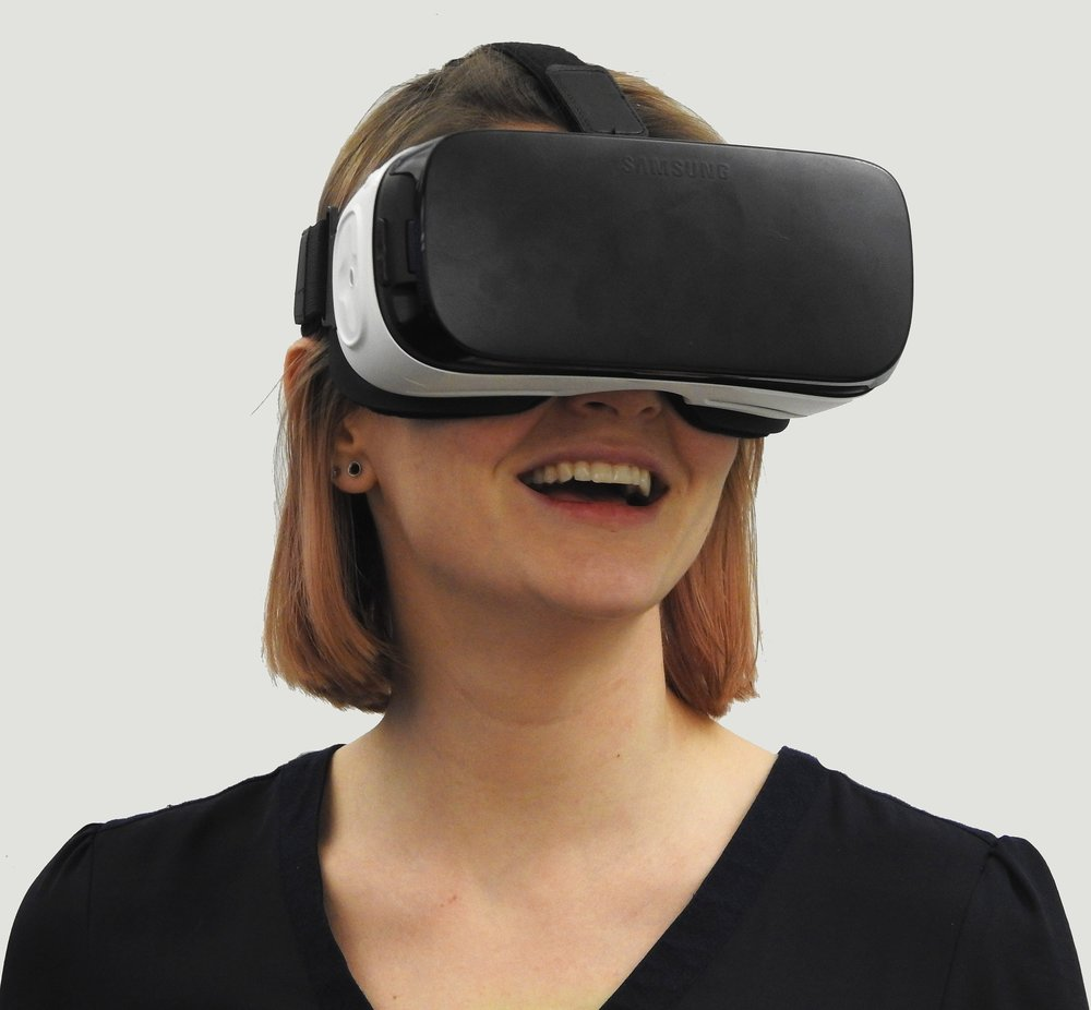 Virtual reality headset can have many uses.