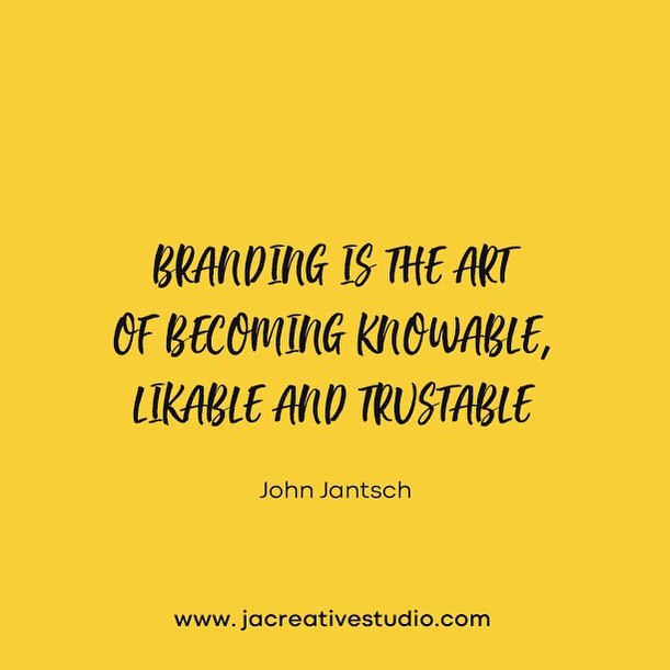 Branding is the art of becoming knowable, likeable and trustable 🎨👍 We offer bespoke branding services for to you, helping you strengthen and define your brand or even start a brand from scratch! +44(0)2380 00 23 00  www.jacreativestudio.com . . . . . . . #JACreativeStudio #GraphicDesign #WebDesign #Social #SocialMedia #Marketing #Logo #SEO #Print #Apps #AppDevelopment #LogoDesign #Brand #Tech #Startup #Branding #Illustration #Art #Search #Fashion #Instagood #Apple #Macbook #London #Southampton #Instagram #Instagramstories #creativeagency #digitalmarketing #creative