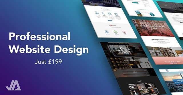 Professionally designed website just £199. Including: - Responsive design (mobile friendly) - Professional email(s) (@ your domain) - Hosting