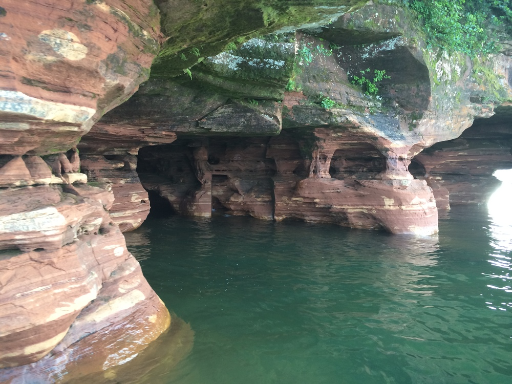 Sea Caves, Sand Island, Apostle Islands National Lakeshore