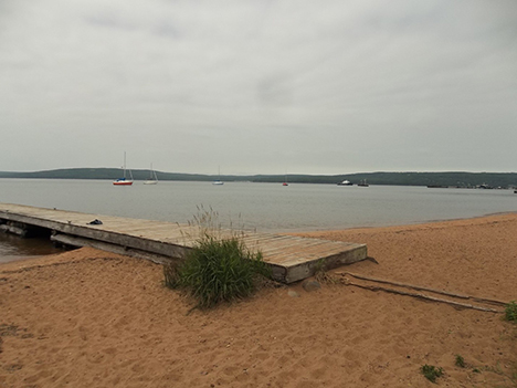 Beach on Madeline Island