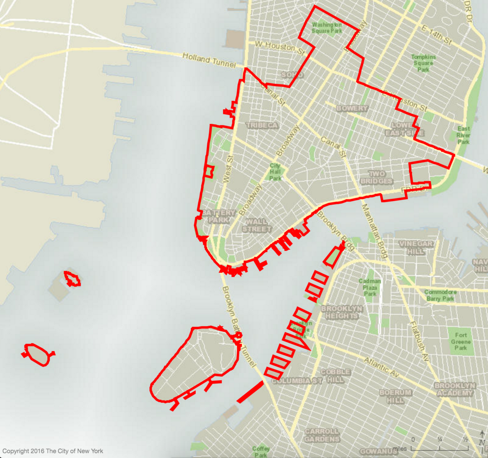 District 1 Includes Washington Square Park, Bowery, Tribeca, Two Bridges, LES, Chinatown, Battery Park, and Wall Street