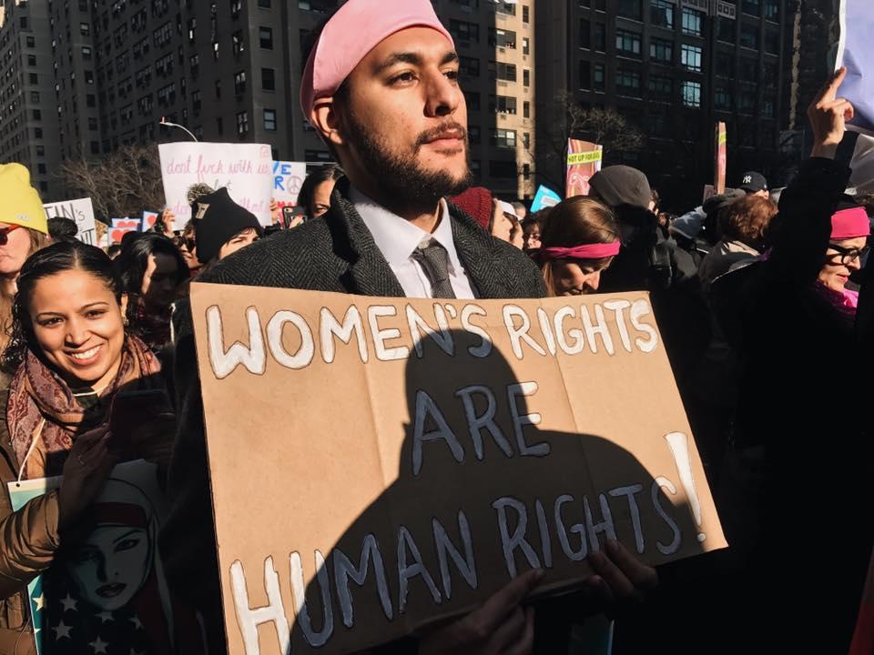 """Anti-Trump March"" - The Villager"