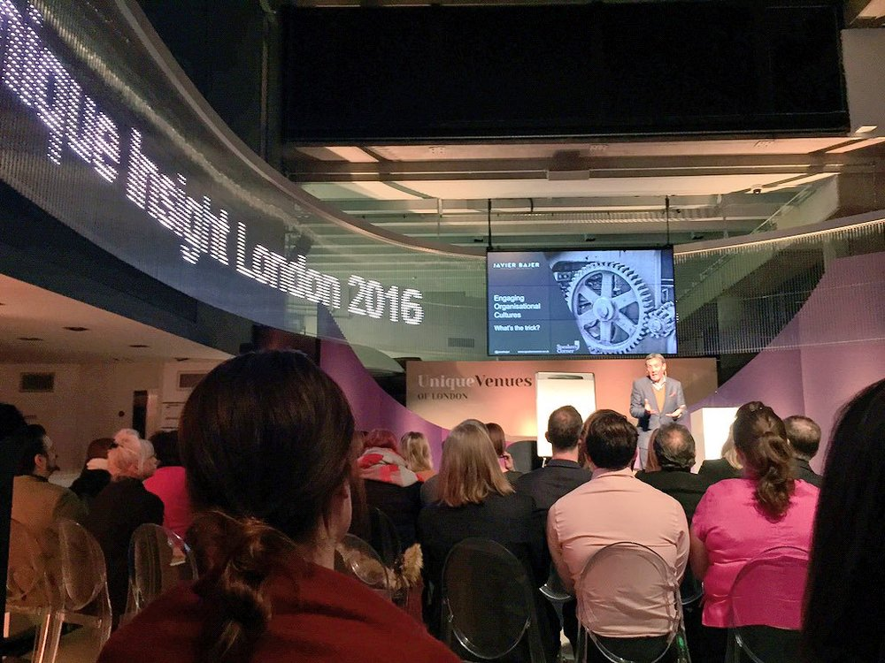 Showcasing at the Museum of London,<br>with senior event managers across Europe