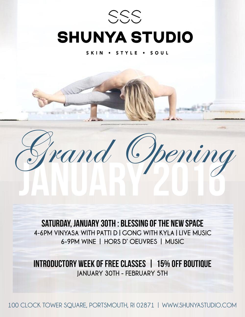 Shunya Opening