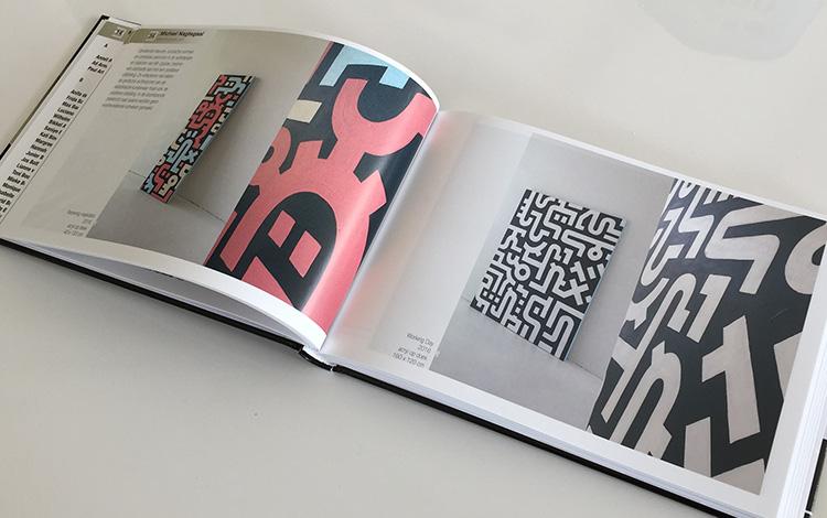 Dutch artist Michiel Nagtegaal aka Mr. Upside feature in Dutch Artists Yearbook 2017 - Inside